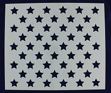 "Buy 50 Star Field -17"" x 19.5"" Painting/Crafts/Stencil/Template"
