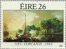 Buy Ireland 1985 1v mnh Stamp Stamp Cork 1185-1985 Anniversaries