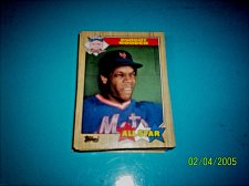Buy DWIGHT GOODEN 1987 Topps #603 All Star HOF METS free shipping