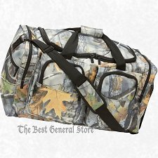"Buy 25"" Weather-Resistant Tree Camo Hunting Tote Bag Range Gear Carry On Overnight"