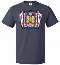Buy Pink Ranger Unisex T-Shirt Pop Culture Graphic Tee (6XL/J Navy) Humor Funny Nerdy Gee