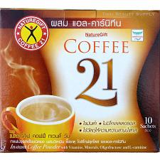Buy Naturegift Coffee 21 With L-Carnitine Diet and Weight Loss Formula 10 Sachets