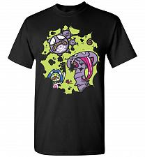 Buy Team Rocket Unisex T-Shirt Pop Culture Graphic Tee (2XL/Black) Humor Funny Nerdy Geek