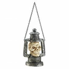 Buy *17684U - Skull Head Lantern Figure w/LED Light