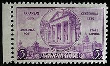Buy 1936 3c Arkansas Statehood Centennial Scott 782 Mint F/VF NH