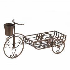 Buy *17006U - Lonestar Brown Cast Iron Bicycle Planter