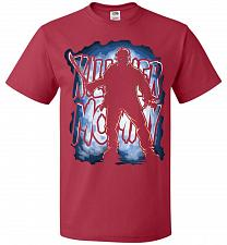 Buy Jason Voorhees Killer Mommy Adult Unisex T-Shirt Pop Culture Graphic Tee (L/True Red)
