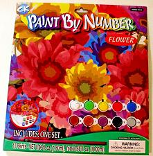 "Buy Creative Kids Activity PAINT BY NUMBER Set - ""Flower"" - Colorful ~ New"