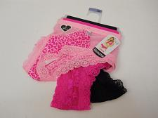 Buy Women 3 Pair SEXY Cheekster Panties PLUS SIZE 9/XXL Pink Assorted Tangas