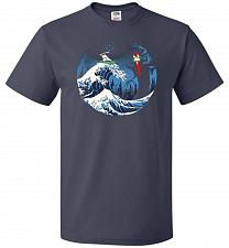 Buy The Great Battle Unisex T-Shirt Pop Culture Graphic Tee (3XL/J Navy) Humor Funny Nerd