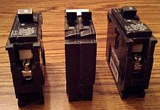 Buy Lot of 3: Siemens Circuit Breakers :: 2 ea: 20A 1P + 1 ea: 15A/15A