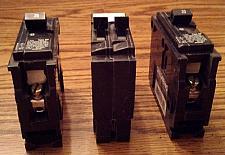 Buy Lot of 3: Siemens Circuit Breakers :: 2 ea: 20A 1P + 1 ea: 15A/15A :: FREE Shipping