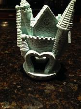 """Buy A Sandcastle for a dreamy Prince & Princess 5"""" turquoise"""