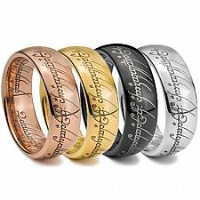 Buy coi Jewelry Tungsten Carbide Lord of the Ring Wedding Band