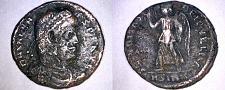 Buy 364-378AD Roman Imperial Valens AE18 - Victory Adv Left - Sirmium Mint