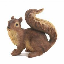 Buy *16955U - Curious Brown Squirrel Garden Statue Figurine