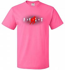 Buy Air Fett Unisex T-Shirt Pop Culture Graphic Tee (L/Neon Pink) Humor Funny Nerdy Geeky