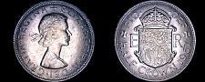 Buy 1967 Great Britain 1/2 Crown World Coin - UK - England - Elizabeth II