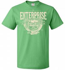 Buy Enterprise Unisex T-Shirt Pop Culture Graphic Tee (L/Kelly) Humor Funny Nerdy Geeky S