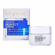 Buy L'Oreal Paris White Perfect Clinical Skin Whitening Day Cream SPF 19 50ml