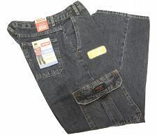 Buy Wrangler Husky Boys Classic Cargo Jean SIZE 14 HUSKY Straight Legs Relaxed Fit