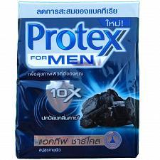 Buy Protex for Men Antibacterial Bar Soap CHARCOAL 65 gram bars Pack of 4