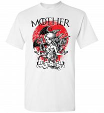 Buy Mother of Dragons Unisex T-Shirt Pop Culture Graphic Tee (M/White) Humor Funny Nerdy