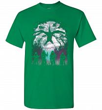 Buy There's Something Strange Unisex T-Shirt Pop Culture Graphic Tee (XL/Turf Green) Humo