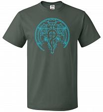 Buy Shadow of Alchemist Unisex T-Shirt Pop Culture Graphic Tee (6XL/Forest Green) Humor F