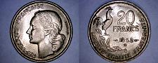 Buy 1952-B French 20 Franc World Coin - France