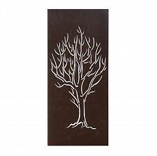 Buy *16037U - Winter Tree Iron Cutout Wall Art