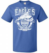 Buy Eagle 5 Hyperactive Winnebago Unisex T-Shirt Pop Culture Graphic Tee (4XL/Royal) Humo