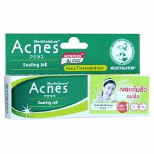 Buy Mentholatum Acnes Sealing Jell Medicated Anti Acne Treatment Gel 18 grams
