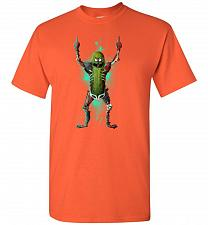 Buy It's Pickle Rick! Unisex T-Shirt Pop Culture Graphic Tee (Youth S/Orange) Humor Funny