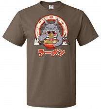 Buy The Neighbor's Ramen Unisex T-Shirt Pop Culture Graphic Tee (4XL/Chocolate) Humor Fun