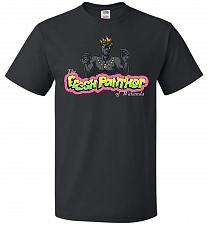 Buy Fresh Panther Unisex T-Shirt Pop Culture Graphic Tee (XL/Black) Humor Funny Nerdy Gee