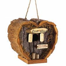 Buy 12605U - Love Shack Heart Decorative Wood Birdhouse