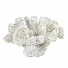 Buy *17016U - Small White Faux Coral Statue Sea Life Figurine
