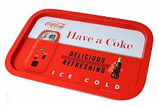 Buy :10837U - Vintage Coca-Cola Red White Serving Tray