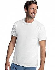 Buy 8 Hanes Classics Men's Tall Mens ComfortSoft TAGLESS Crewneck T-Shirt #9856W4