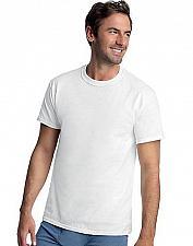 Buy 8 Hanes Classics Men's Tall Mens ComfortSoft TAGLESS Crewneck T-Shirt #9856W4
