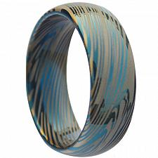 Buy coi Jewelry Tungsten Carbide Damascus Wedding Band Ring