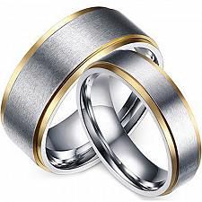 Buy coi Jewelry Titanium Wedding Band Ring - JT3088(Size US13)