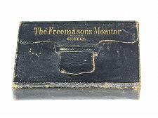 Buy 1864 FREEMASONS MONITOR Sickels Pocket Size Masonic Vintage Mason Rare Find