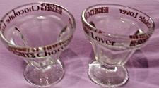 Buy Set of 2 Hershey's Chocolate Lovers Ice Cream Dish Sundae Glasses