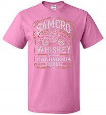 Buy Sons of Anarchy Samcro Whiskey Adult Unisex T-Shirt Pop Culture Graphic Tee (M/Azalea