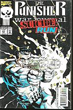 Buy The PUNISHER War Journal SUICIDE RUN #61 MARVEL COMICS 1993 Special cover
