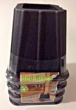 "Buy Furniture Bed Riser Set of 4 ~ Table Couch ~Strong Heavy Duty~ Lift 5.25"" ~ NIP"