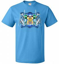 Buy Green Ranger Unisex T-Shirt Pop Culture Graphic Tee (4XL/Pacific Blue) Humor Funny Ne