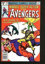Buy MARVEL SUPER ACTION #20 Avengers BLACK PANTHER 1980 Thomas Buscema YELLOW JACKET